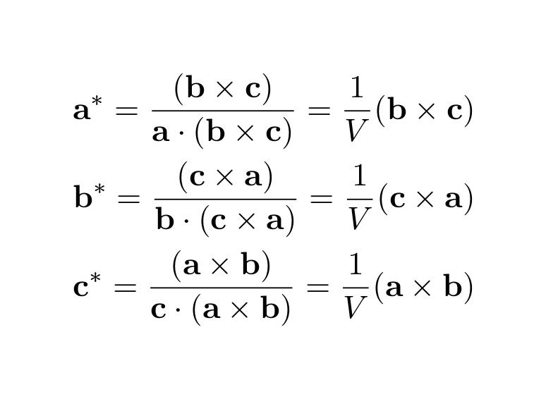 逆格子点の計算の理論背景: Theoretical Background for Calculation ...